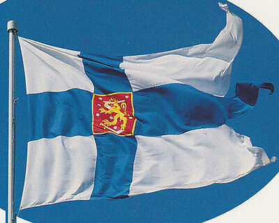 NEW 3ftx5 FINLAND FINNISH WWII WAR SWALLOW TAIL BANNER FLAG