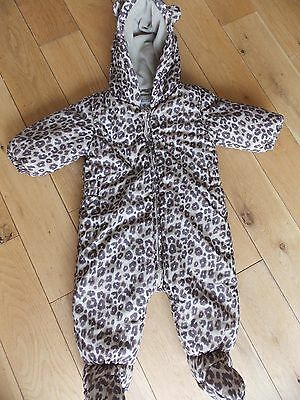 NEXT SNOWSUIT Age 6-9 Months.GREAT CONDITION Fleece Lined Beautifully Clean
