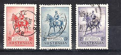 Kgv 1935 Silver Jubilee Set Used See Desc (A98)
