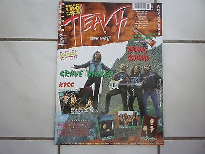 Heavy, Oder Was?! Nr. 29 07/1996 (Grave Digger Kiss Manowar Dio Rush C.O.C. Mag)