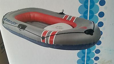 inflatable boat sevylor super caravelle 3 person  plus motor
