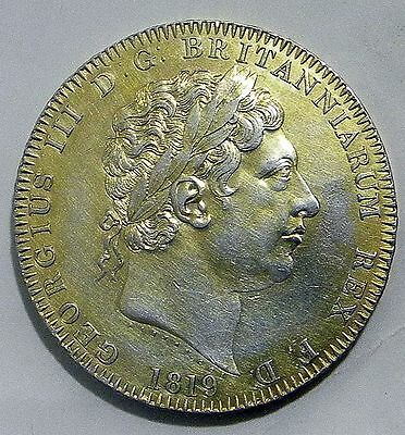 1819 George Iii Crown  Lix