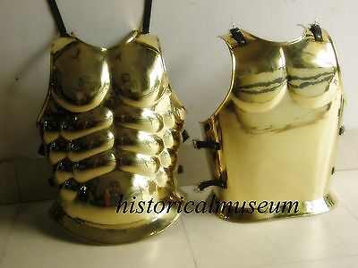 Roman Armour Cuirass Brass  Hm80 Greek Muscle Armor Breastplate