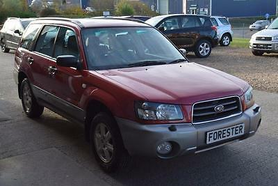 2005 Subaru Forester 2.0 X 5dr