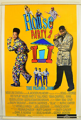 HOUSE PARTY 2 (1991) 1-Sheet Movie Poster - Christopher Reid, Christopher Martin