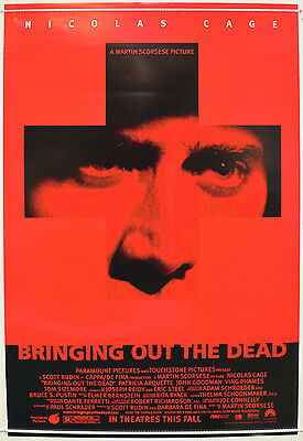 BRINGING OUT THE DEAD (1999) Original One Sheet Movie Poster - Nicolas Cage