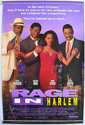 A RAGE IN HARLEM (1991) One Sheet Movie Poster - Forest Whitaker, Gregory Hines
