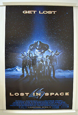 LOST IN SPACE  (1998) One Sheet Movie Poster - Gary Oldman, Matt Le Blanc