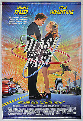 BLAST FROM THE PAST (1999) Original One Sheet Movie Poster - Brendan Fraser