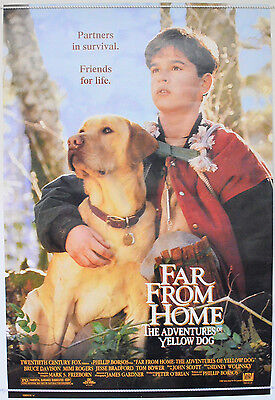 FAR FROM HOME THE ADVENTURES OF YELLOW DOG (1995) 1-Sheet Poster  Jesse Bradford