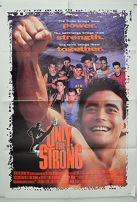 ONLY THE STRONG (1993) One Sheet Movie Poster - Mark Dacascos,  Stacey Travis