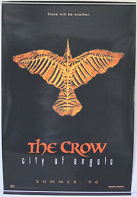 THE CROW II - CITY OF ANGELS (1996) One Sheet Movie Poster - Vincent Perez (ADV)
