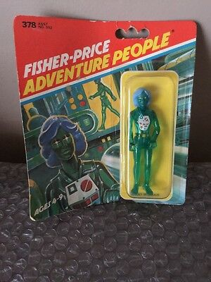 Vintage 1979 Fisher Price Adventure People X-Ray Woman Moc Mint On Card