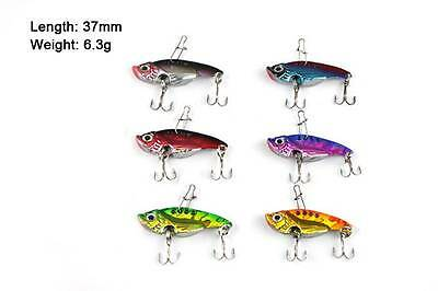6 X Metal Switchblade / Vibe Style Fishing Lure Special Offer  Fishing Tackle!
