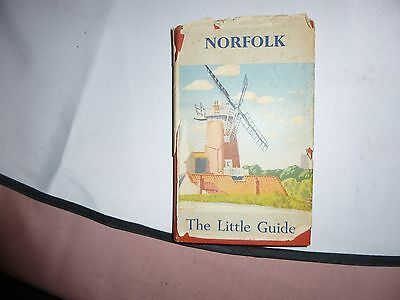 Norfolk. The Little Guides. By W.A. Dutt. 1949.IncludiW. A. Duttng Map. Hardback