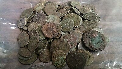 roman coins 140+ unchecked some look great