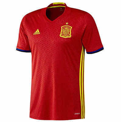 Adidas Spain Home National Team Football Shirt Jersey - Adults