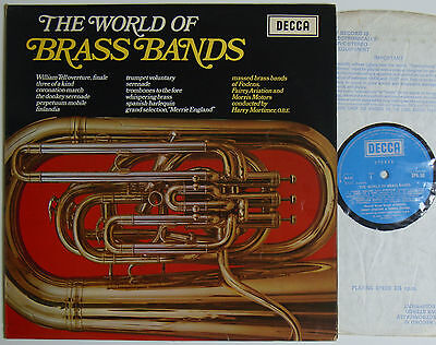 """The World Of Brass Bands (6805) 12"""" LP 1969 Decca SPA 20"""