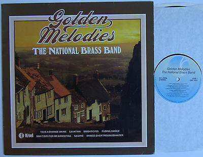 """The National Brass Band Golden Melodies (6817) 12"""" LP 1980 K-Tel ONE 1075"""