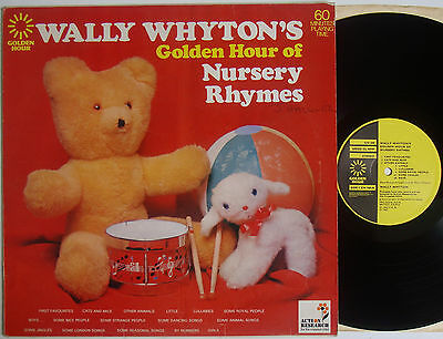 "Wally Whyton's Golden Hour Of Nursery Rhymes (5990) 12"" LP Golden Hour 1973"
