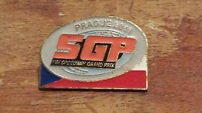 Czech Republic---Speedway Grand Prix 2011----Speedway Badge--Gold Metal