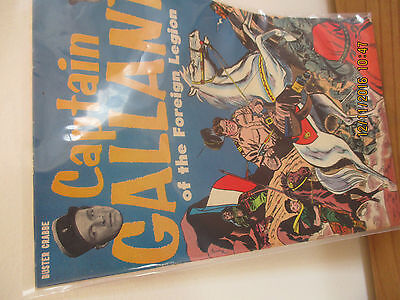 Captain Gallant of the Foreign Legion #1  1950s  VG+