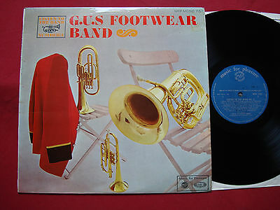 The G.U.S. Footwear Band Listen To The Band No. 3 (4181) Music For Pleasure LP