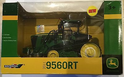 1:32 Scale BRITAINS FARM 42897 JOHN DEERE 9560RT TRACTOR Brand New & Boxed