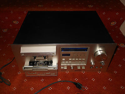 Pioneer CT F950 stereo cassette tape player rack system