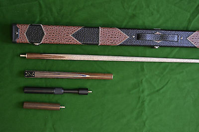 Brand New Robin Scott Handmade Ash Snooker Pool Cue Set Edition 3 With 9.5Mm Tip