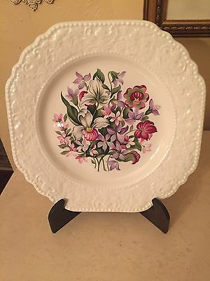 Lord Nelson Pottery ~ Floral Emblems of Atlantic Canada Plate