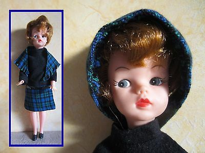 Vintage Sindy or Tammy doll clone, Camay, in LUNCH DATE Pedigree MIHK version