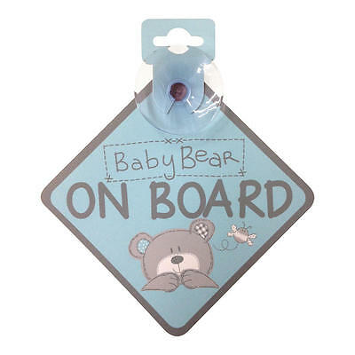 New Zobo Baby on Board Sign - Baby Bear On Board Model:19330071