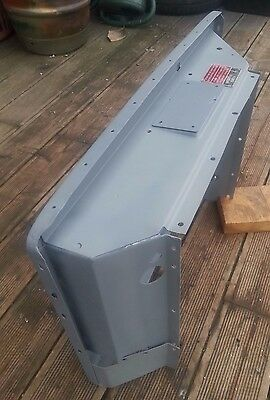 Land Rover Series 3 FFR Military Front Radiator Panel - Galvanised
