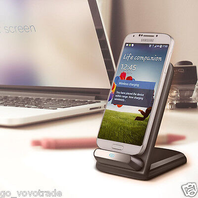 landFox Qi Wireless Charger Stand Dock for Samsung Galaxy S6 / S6 Edge LG G3