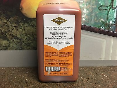 Fontana by Starbucks Limited Edition Pumpkin Spice Sauce Syrup Hot/Iced 63 Oz