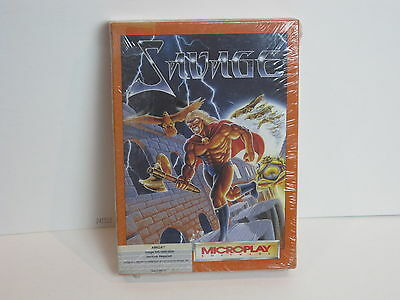 Vintage Software For The AMIGA from MICROPLAY SAVAGE  New/Sealed
