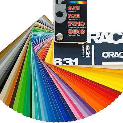 ORACAL 631 (10) 12 inches x 12 in ADHESIVE VINYL  45 Colors to Choose From