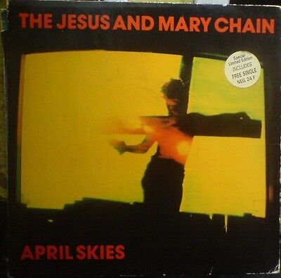 The Jesus & The Marychain-April Skies,x 2,7 inch single,limited Edition