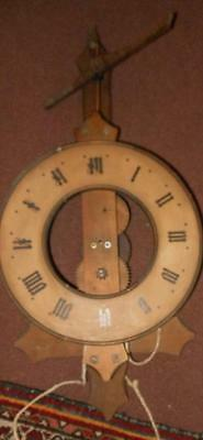 large buco of switzerland weight driven wall clock for spares/ repair