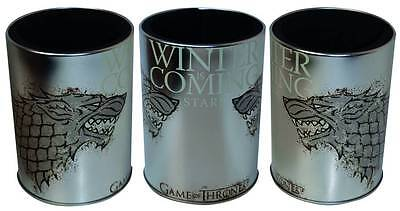 CLEARANCE PRICED Game Of Thrones Metal Can Cooler - House Of Stark