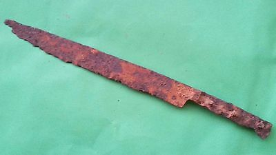 27. Ottoman Empire, Superb Iron Military Long Knife - 355mm