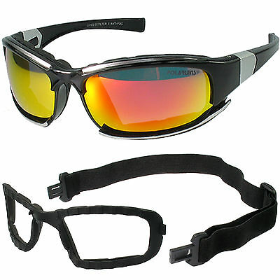 SPEZIALEDITION WINTERSPORT SONNENBRILLE mit Band & Softframe v. POLARLENS p15NEU
