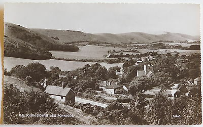 POYNINGS, South Downs, Brighton, Sussex RP - 1950's - Vintage postcard
