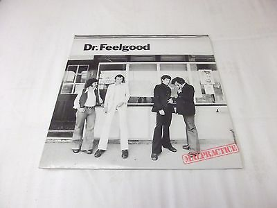 "Dr Feelgood "" Malpractice "" Rare UK Press United Artists Record Label Ex"