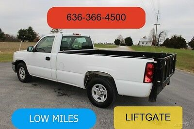 2004 Chevrolet Silverado 1500 Work Truck 2004 Work Truck Used 4.8L V8 Pickup Truck Liftgate Low Miles Automatic 1 Owner