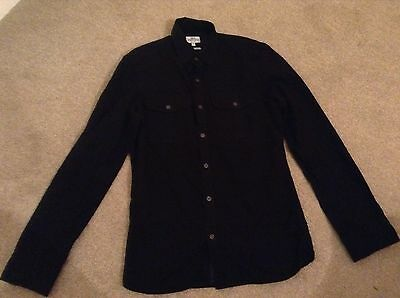 NEXT Men's Black Shirt Size Extra Small Good Condition