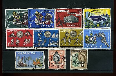 Jamaica.11  -- 1962/3  Mounted Mint/ Used Stamps On Stockcard