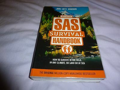 Sas Survival Handbook - How To Survive In The Wild, Land, Sea And Any Climate