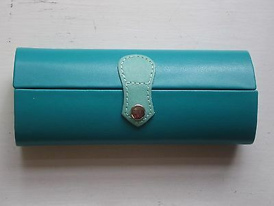 Gorgeous 'DUO' Firm Bodied Glasses Case -  SEA GREEN / MINT - NEW